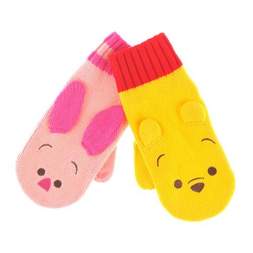 日本disney 可爱卡通手袜 2款选择:怪兽公司/小熊维尼 免费送货